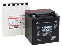 YUASA batteri YIX30L-BS With acid bottle