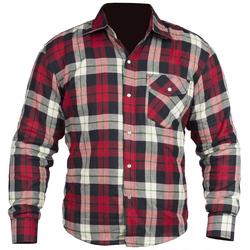 Bolt Fred kevlar shirt röd/svart/vit