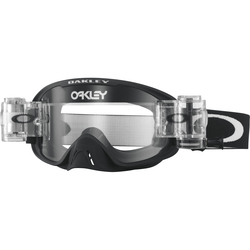 Oakley goggles O2 MX Race-Ready Matte Black Clear lens Roll-Off