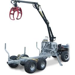 ATV GRAPPLE CRANE 350-II  hydraulisk drivning