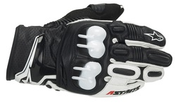 Alpinestars GPX handske svart/vit